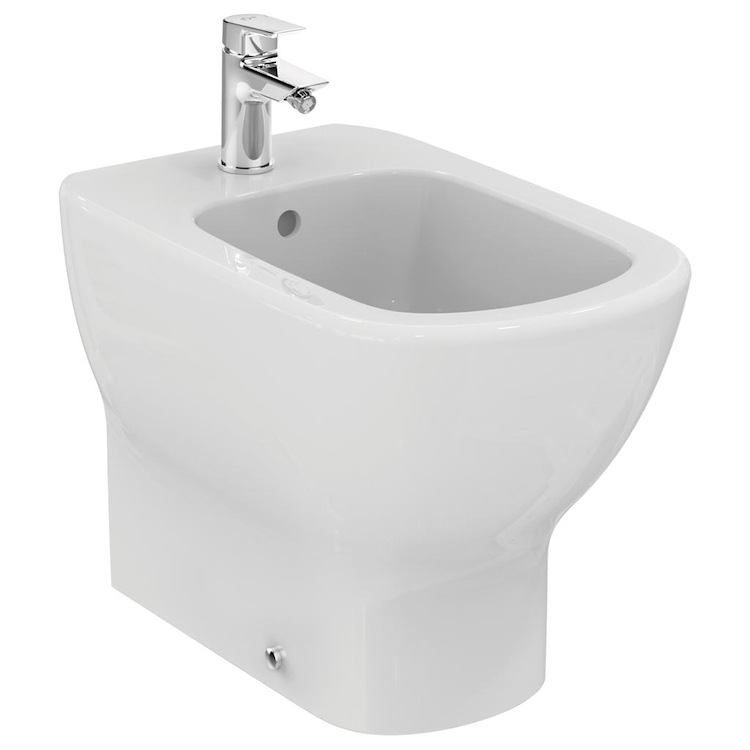 TESI NEW BIDET FILO PARETE 1 FORO codice prod: T354001 product photo