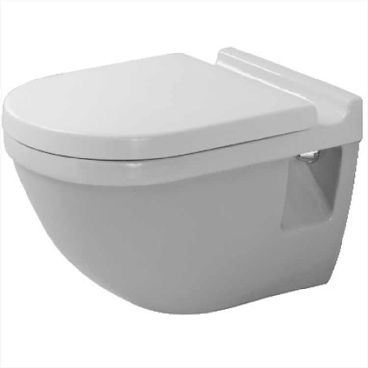 STARCK3 WC SOSPESO BIANCO codice prod: 2200090000 product photo