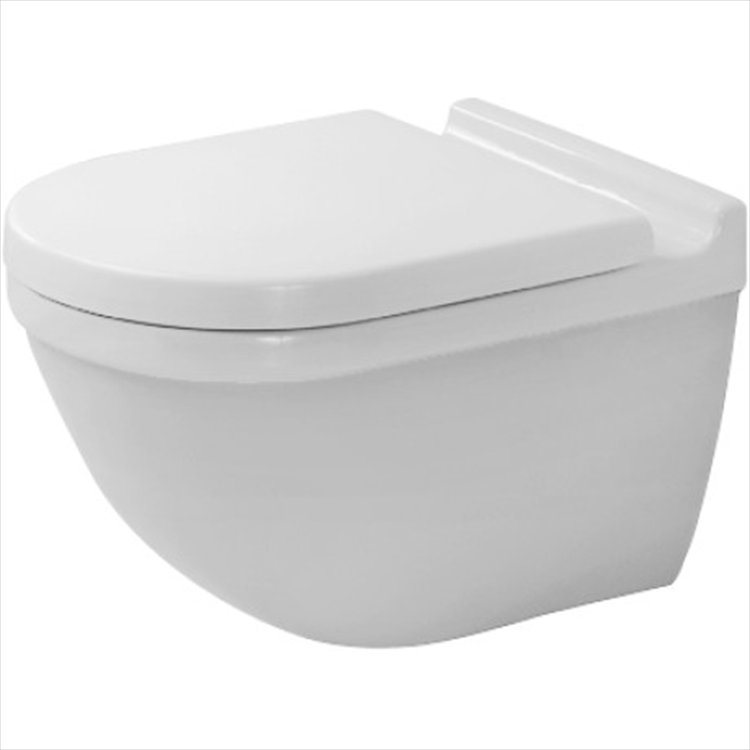 STARCK3 WC SOSPESO BIANCO codice prod: 2225090000 product photo