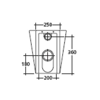 XES 9909 WC SCARICO UNIVERSALE codice prod: 9909 product photo Foto3 L2