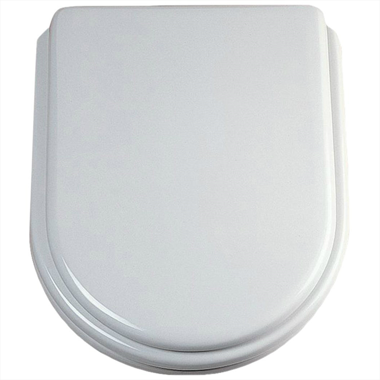 ESEDRA SEDILE TERMOINDURENTE BIANCO CERNIERA INOX codice prod: T627701 product photo