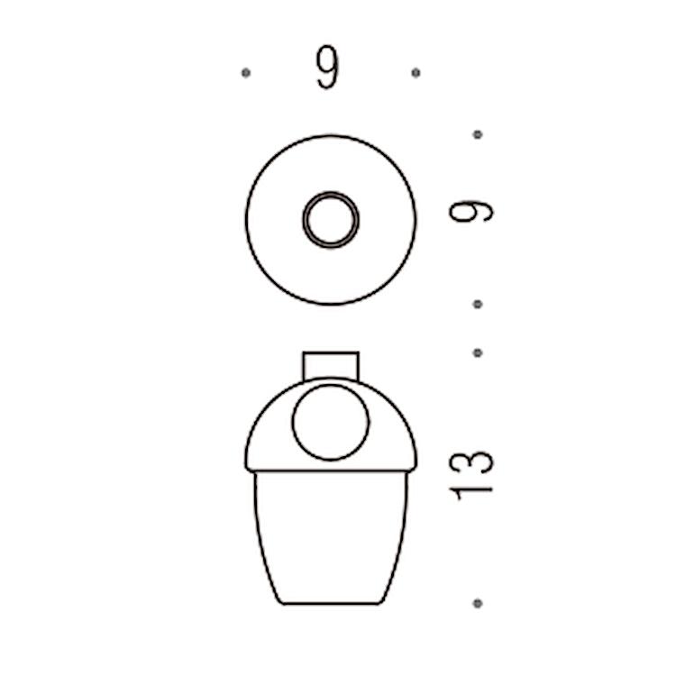 MELO' B93520-VAN CONTENITORE PER SPANDISAPONE (L 0,38) PER ART. B9305; B9306  RICAMBI B9352 codice prod: B93520-VAN product photo