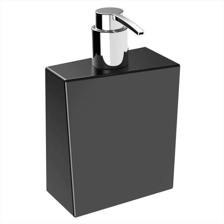 BATHMAN 5157N DISPENSER CERAMICA NERO codice prod: 5157N product photo