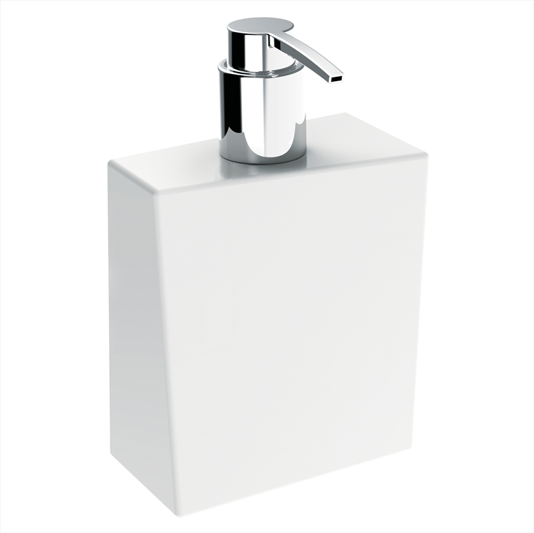 BATHMAN 5157V DISPENSER CERAMICA BIANCO codice prod: 5157V product photo