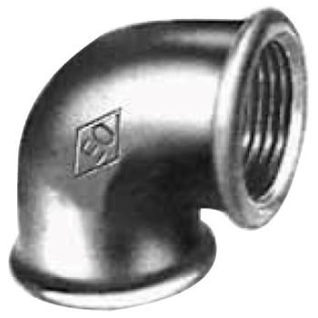 """GOMITO 90° FF 3"""" ZNT 90 ANGOLO GHISA MALLEABILE ZINCATO codice prod: 0900500A product photo Default L2"""