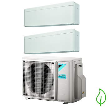 DUALSPLIT PURIFICATORE SERIE Stylish FTXA25AW FTXA35AW 2MXM50M 9000 12000 btu product photo