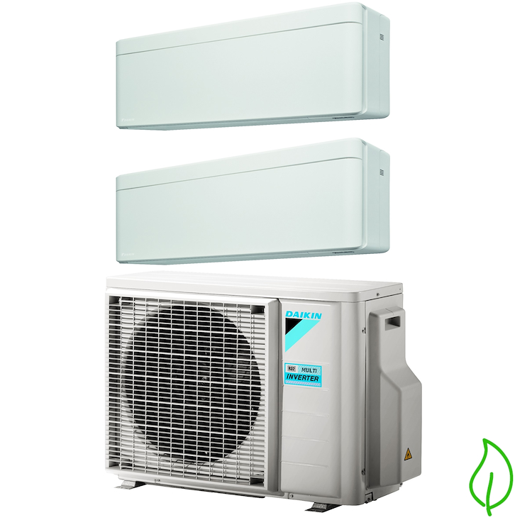 DUALSPLIT PURIFICATORE SERIE Stylish FTXA35AW FTXA35AW 2MXM50M 12000 12000 btu product photo
