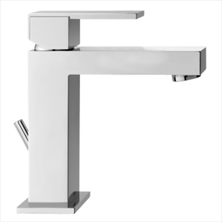 "FEEL MISCELATORE LAVABO CROMO PILETTA1""1/4 TUBI FLESS codice prod: 48410000D151 product photo"