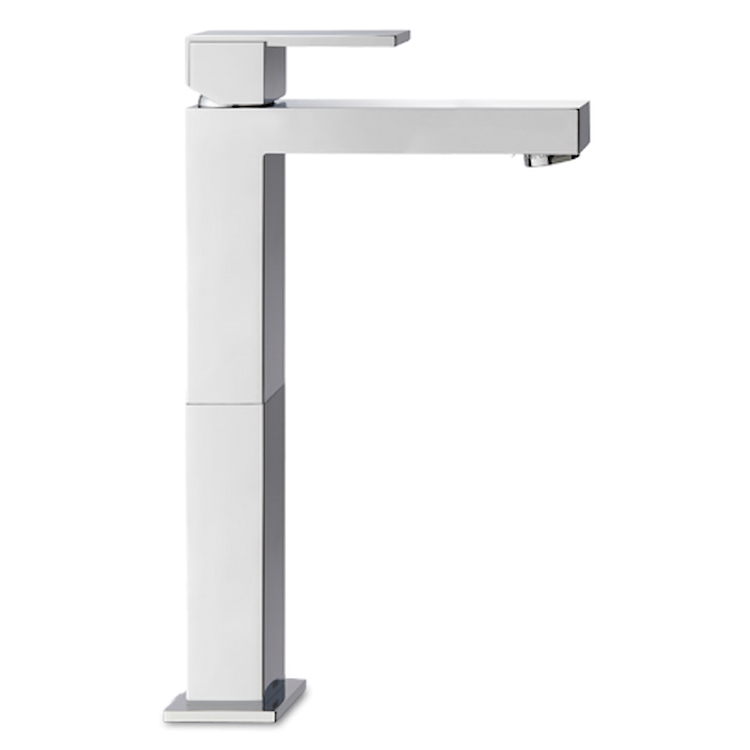 FEEL 4846/S140 MIX LAVABO ALTO CROMO S/SCARICO TUBI FLESS BOCCA14 codice prod: 4846S140D101 product photo