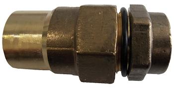 """RACCORDO DIRITTO X GAS DN32 3/4"""" F codice prod: DSV16289 product photo Default L2"""