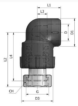 GOMITO C/COD. E DADO K25 D.20X3/4 codice prod: DSV02153 product photo Foto3 L2