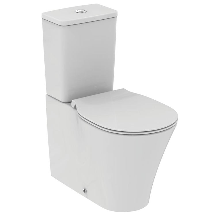 CONNECT AIR E014101 WC PER CASSETTA AQUABLADE SLIM SEDILE BIANCO codice prod: E014101 product photo
