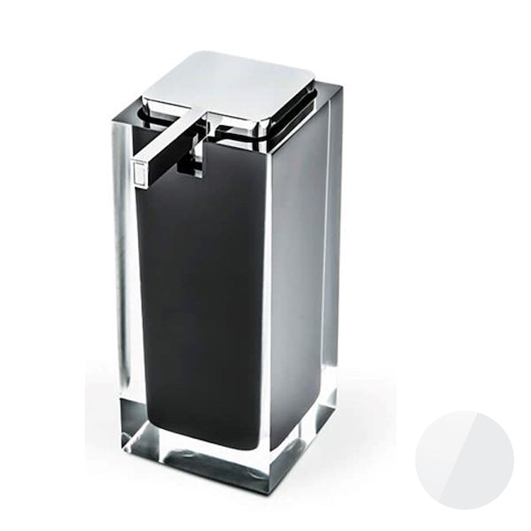 COOL W4505 P/DISPENS ICY APPOGG RESINA PORTADISPENSER ARGENTO codice prod: W4505-RAG product photo