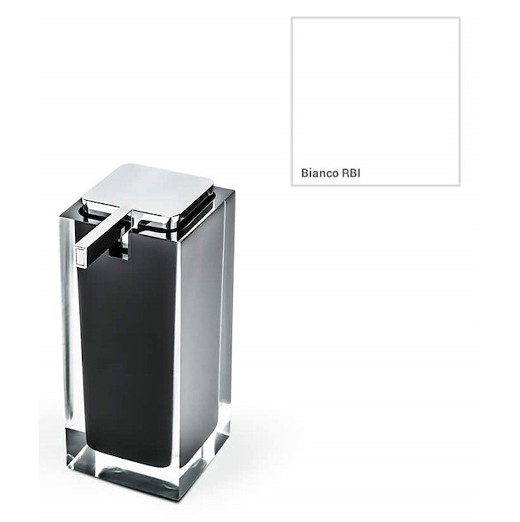 COOL W4505 P/DISPENS ICY APPOGG RESINA PORTADISPENSER BIANCO  codice prod: W4505-RBI product photo