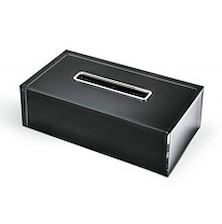 COOL ICY W4503 PORTA KLEENEX RESINA NERO codice prod: W4503-RNE product photo
