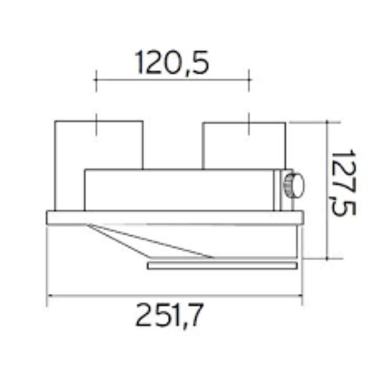 SDOPPIATORE TURBOMAG PLUS 80/80 CON ISPEZIONE codice prod: 0020207070 product photo