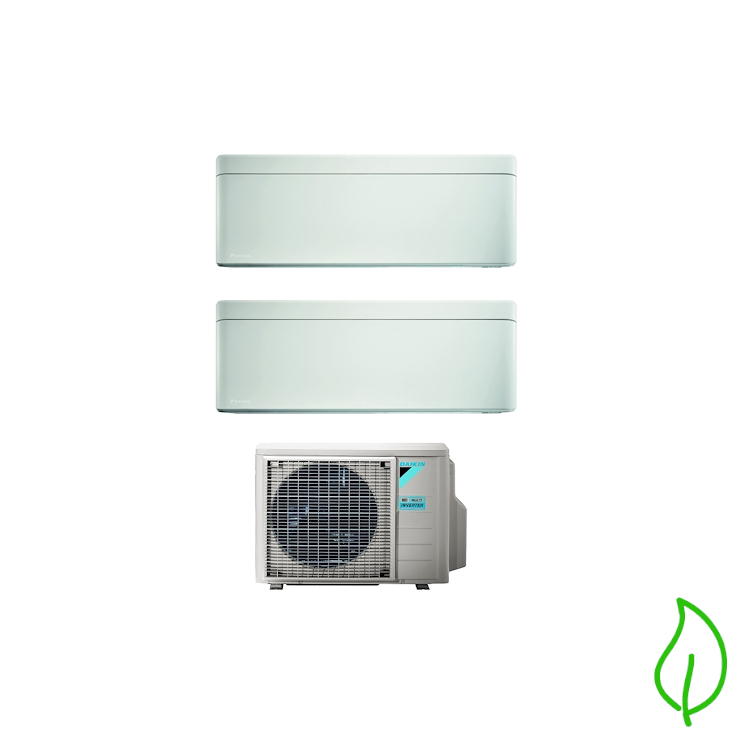 DUALSPLIT PURIFICATORE SERIE Stylish FTXA25AW FTXA25AW 2MXM50M9 9000 9000 btu product photo