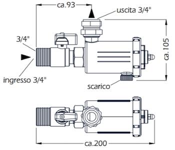 FILTRO DEFANGATORE CON MAGNETE STORM codice prod: DSV17820 product photo Foto1 L2