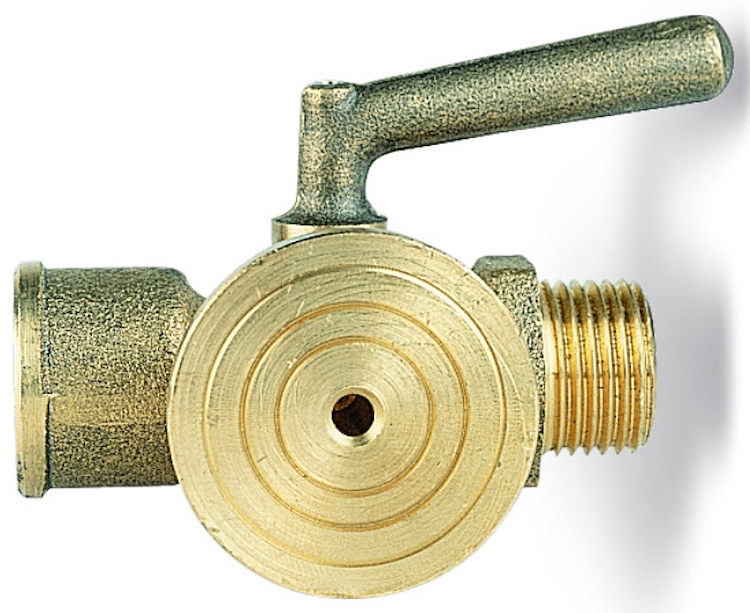 "RUBINETTO PORTAMANOMETRO CON FLANGIA D. 40 PN 16 1/2"" MF codice prod: DSV17496 product photo"