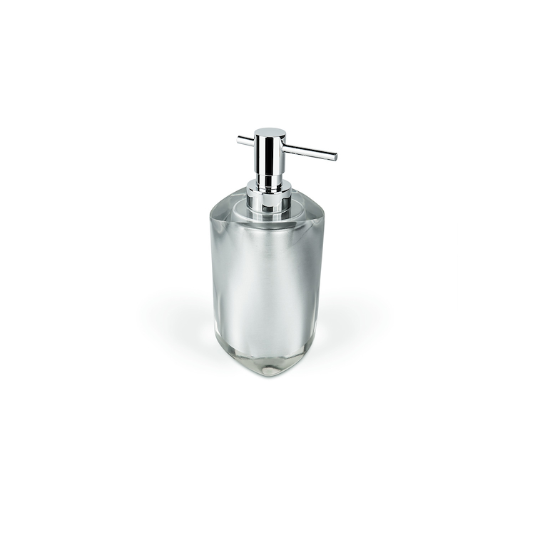 COOL W4705 P/DISPENS DROPY APPOGG RESINA PORTADISPENSER BIANCO codice prod: W4705-RBI product photo
