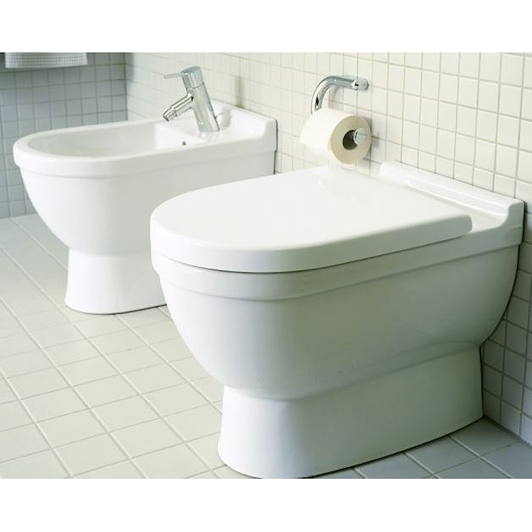 SERIE STARCK 3 A PAVIMENTO WC + BIDET + SEDILE product photo