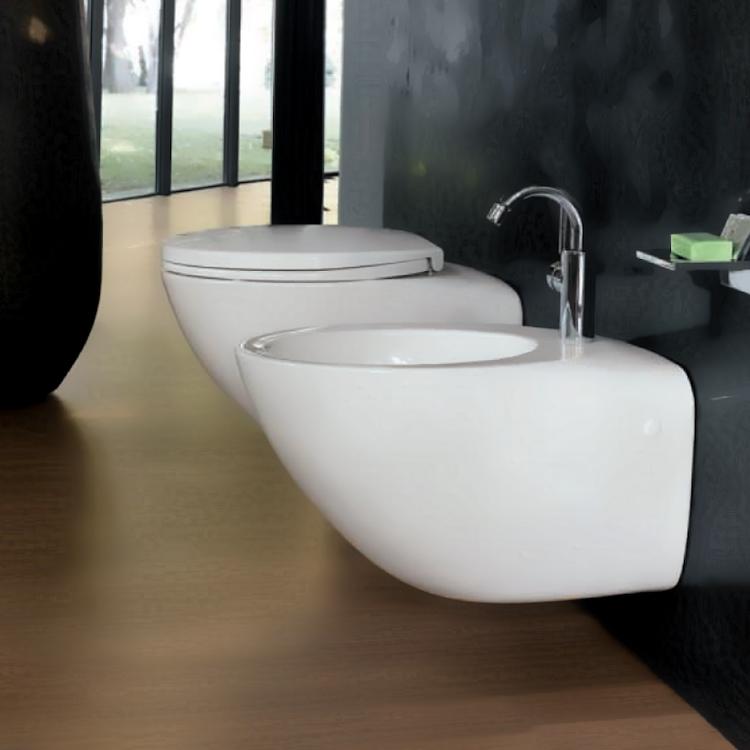 JOIN bidet sospeso 1 foro bianco con allacciamento acqua interno codice prod: 04258-000 product photo
