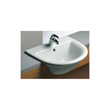 FIORILE lavabo semincasso 1F 3F 65x53 bianco europeo codice prod: T085301 product photo Default L2