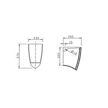 NOVELLA Semicolonna Lavabo bianca codice prod: J060600 product photo Foto1 L2