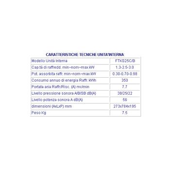 Unita' esterna climatizzatore DAIKIN RKS25C 10000 btu codice prod: RKS25C product photo Foto1 L2