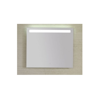 SPECCHIO FILO LUCIDO 80X70 RETROILLUMINATO LED CON INTERRUTTORE TOUCH codice prod: BPS080 product photo