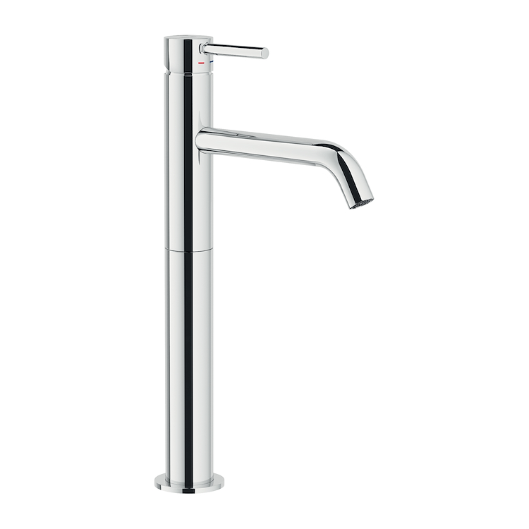 ACQUERELLI RUBINETTO LAVABO MONOLEVA A BOCCA ALTA codice prod: AQ93128/2CR product photo