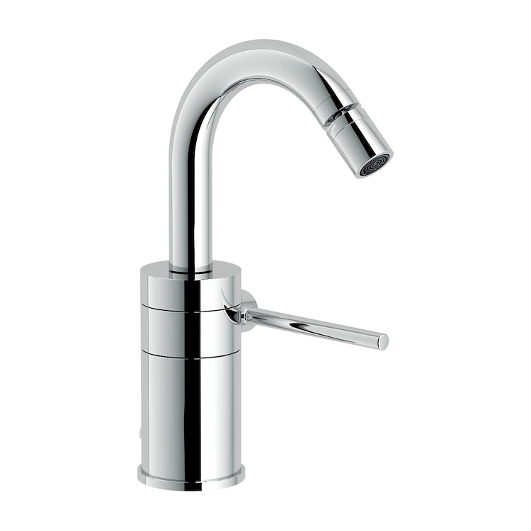 PLUS RUBINETTO BIDET MONOLEVA CON BOCCA GIREVOLE codice prod: PL00139/1CR product photo