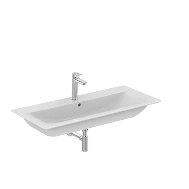 CONNECT AIR E027901 LAVABO TOP SOSPESO 1 FORO BIANCO codice prod: E027901 product photo