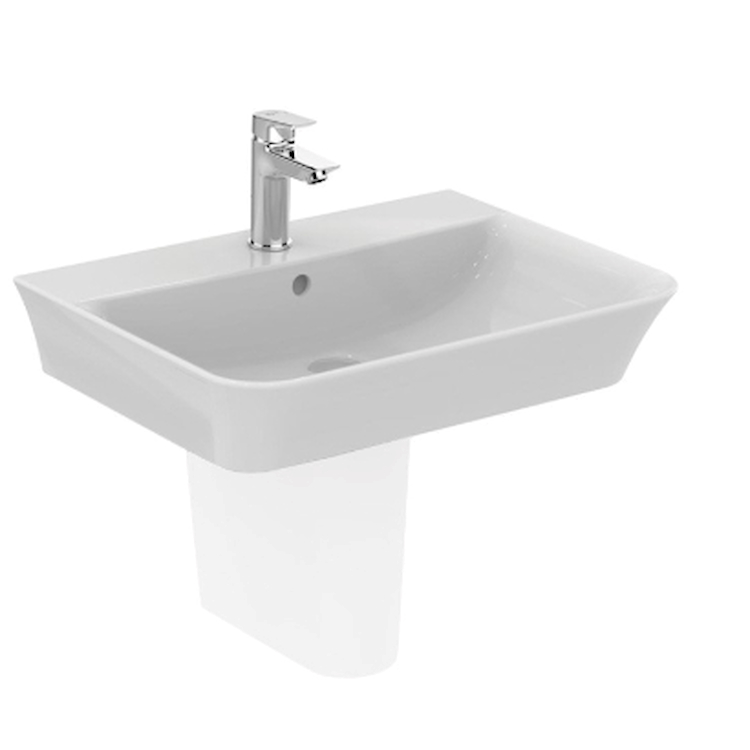CONNECT AIR E034901 LAVABO APPOGGIO 1 FORO BIANCO codice prod: E034901 product photo