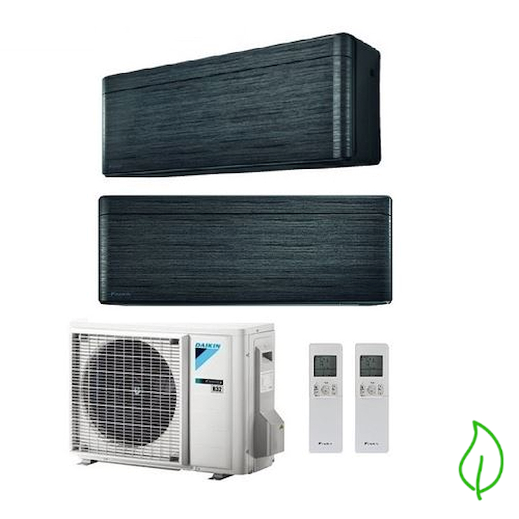 DUALSPLIT PURIFICATORE SERIE Stylish FTXA35BT FTXA50BT 2MXM50M 12000 18000 btu product photo