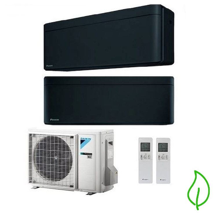 DUALSPLIT PURIFICATORE SERIE Stylish FTXA25BB FTXA50BB 2MXM50M 9000 18000 btu product photo