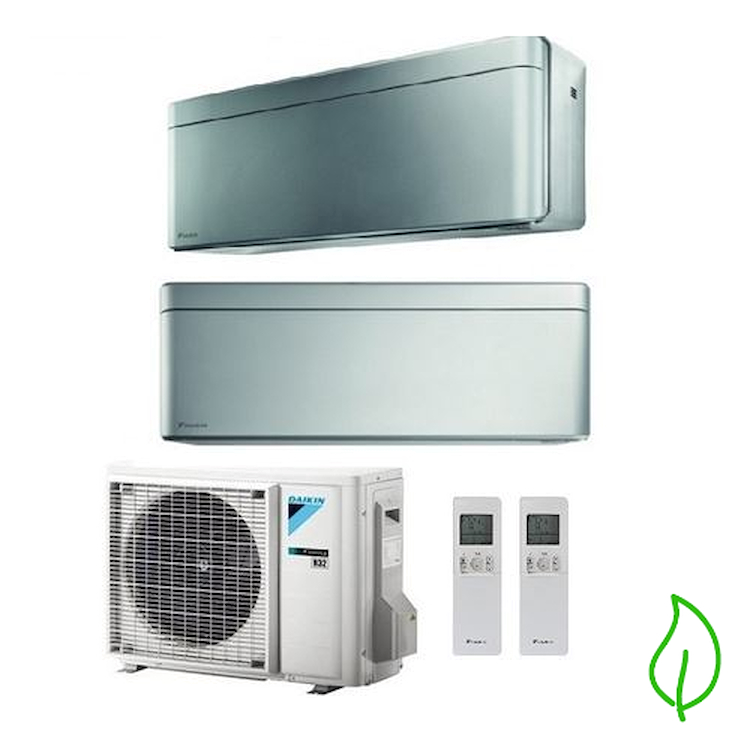 DUALSPLIT PURIFICATORE SERIE Stylish FTXA25BS FTXA50BS 2MXM50M 9000 18000 btu product photo