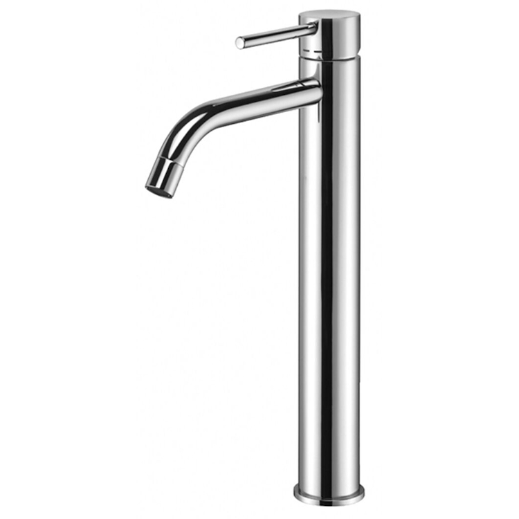 LIGHT RUBINETTO LAVABO MONOLEVA CON PILETTA codice prod: LIG081KCR product photo