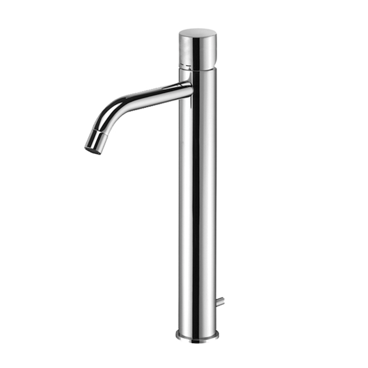 LIGHT RUBINETTO LAVABO MONOLEVA CON PILETTA codice prod: LIGX085CR product photo