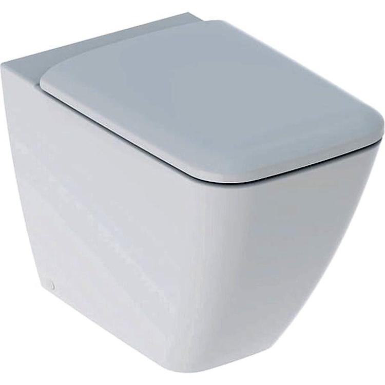 ICON SQUARE 500.825.00.1 WC RIMFREE SEDILE QUICK RELEASE CON FISSAGGI BIANCO codice prod: 500.825.00.1 product photo