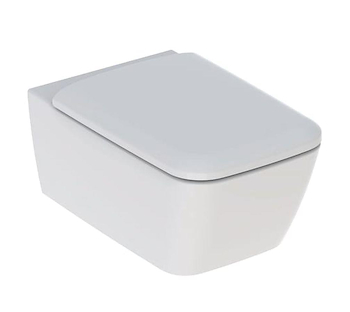ICON SQUARE 500.807.00.1 WC RIMFREE SOSPESO SEDILE QUICK RELEASE CON FISSAGGI BIANCO codice prod: 500.807.00.1 product photo Default L2