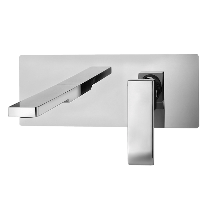 LEVEL RUBINETTO LAVABO A PARETE codice prod: LES104CR product photo