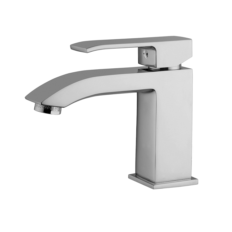 LEVEL LES071 MISCELATORE LAVABO LEVA STANDARD SENZA SCARICO CROMATO codice prod: LES071CR product photo