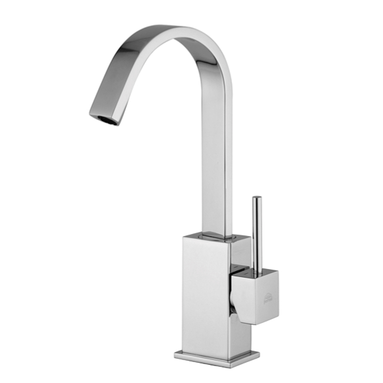 LEVEL RUBINETTO LAVABO MONOLEVA A BOCCA ALTA E GIREVOLE codice prod: LEA878CR product photo