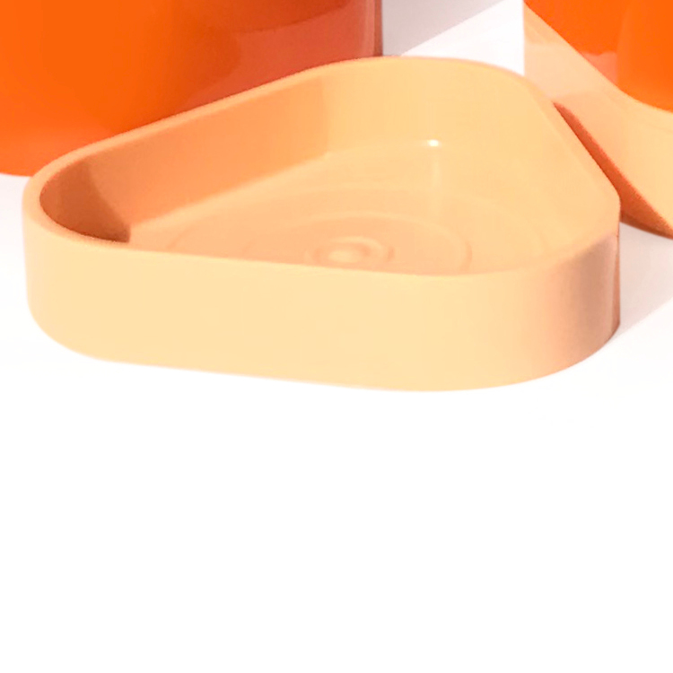 MARGHERITA 13775311400 COPPIA PORTA SAPONE ARANCIO codice prod: 13775311400 product photo