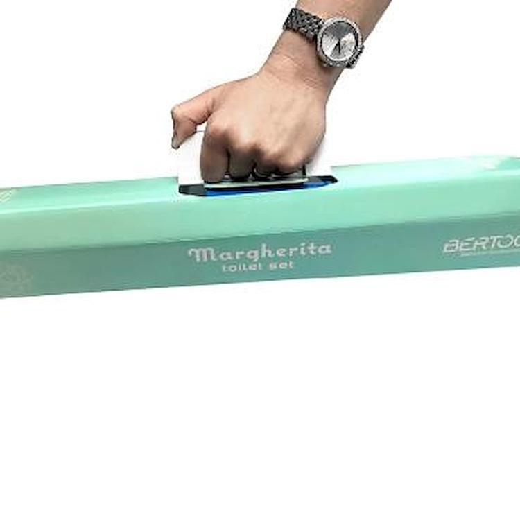 MARGHERITA 13779990001 KIT DISPENSER + BICCHIERE + PORTA SAPONE MULTICOLORE codice prod: 13779990001 product photo