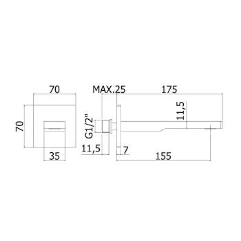 TANGO ACCESSORI codice prod: ZBOC120CR product photo Foto1 L2