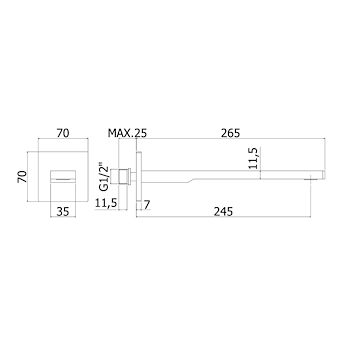 TANGO ACCESSORI codice prod: ZBOC122CR product photo Foto1 L2