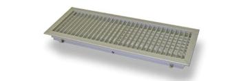 BOCCHETTA 2 FILARI REGOLABILI 600X100 C/SERRANDA A CONTRASTO C/CLIP RAL9010 codice prod: DAV600100SC11 product photo Default L2