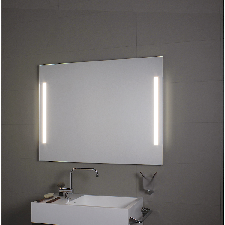 COMFORT LINE LED LC0325 SPECCHIO LUNGHEZZA 140 ALTEZZA 70 ILLUMINAZIONE LATERALE codice prod: LC0325 product photo